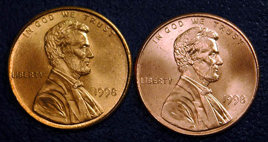 RS COINS 1968  /&  1969 P/&D ~ BRILLIANT UNCIRCULATED ~ 4 pc  Lincoln Cent Set